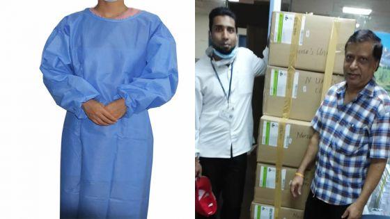 Lutte anti-Covid-19 : le Nurses Union fait un don de matériel de protection aux infirmiers