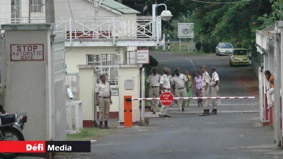 Covid-19 : la New Wing de la Prison Centrale annule toute incarcération pour 14 jours pour cause de contaminations