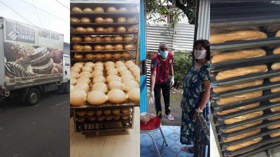 Dans le Sud : la boulangerie Krispy Bread Bakery & Pastry fournit des pains aux 'frontliners' et aux familles vulnérables