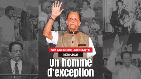 Décès de sir Anerood Jugnauth : un géant de la scène politique mauricienne s'en est allé