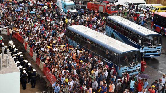 Lancement officiel : le métro accueillien fanfare à Rose-Hill
