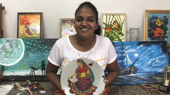 Tasheeana Veerabadren : enfant sourde et prodige de la peinture