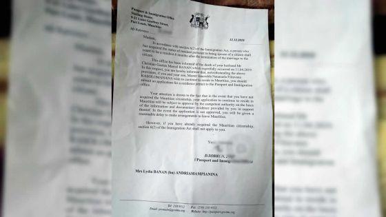 Son beau-père décédé :Natanaela, 17 ans, risque l'expulsion vers Madagascar
