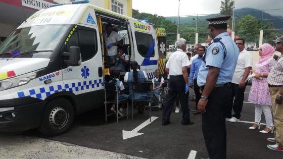 Inhalation de gaz - À Port-Louis : une trentaine d'élèves intoxiquées, quatre admises à l'hôpital