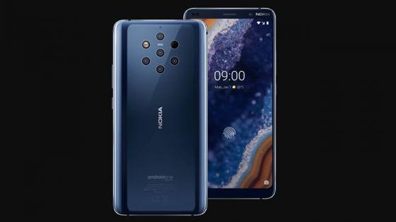 Smartphone - Le Nokia 9 Pureview : surenchère du nombre d'objectifs photo