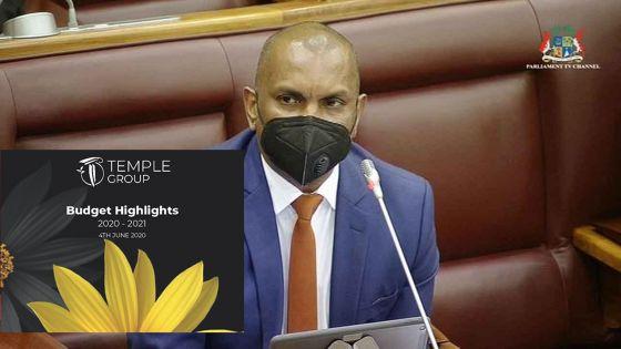 Budget 2020-21 : Temple Group fait état de ses observations