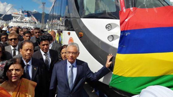 Arrivée de la première rame - Pravind Jugnauth : «Aucun compromis sur la sécurité»