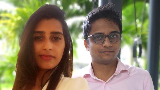 Keshav China-Appadu et Amina Bibi Saadya Dousoruth