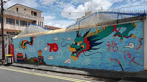 Fresque : une commémoration colorée à Chinatown