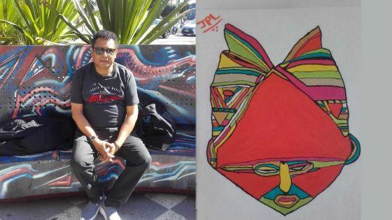 Nouveau talent :Jean-Paul Lavénérable fait tomber les masques africains