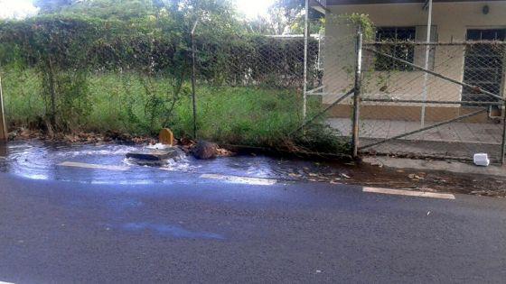 Tuyau endommagé - Mala : «Ma cour s'est transformée en rivière»