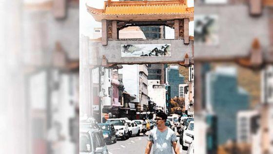 Au Dias Pier, Caudan Waterfront : exposition intitulée «Ajourney into Chinatown»