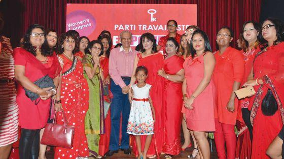 Congrès du Parti travailliste : Ramgoolam promet 30 % des candidates