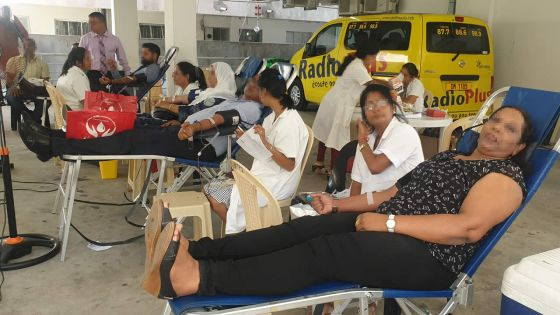 World Blood Donor Day : a duty for young people to help humanity and themselves