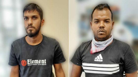 A Terre-Rouge/Verdun : deux hommes arrêtés pour possession de drogue