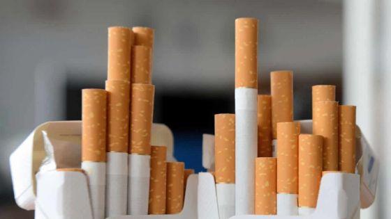 Vol de cigarettes d'une valeurde Rs 153 000