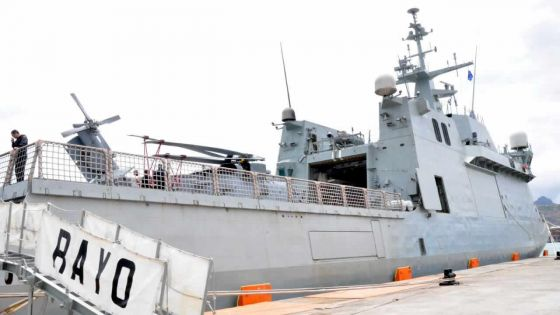 Sécurité maritime : Maurice reçoit la visite du navire de guerre ESPS Rayo