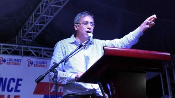 L'Alliance nationale à la Tour Koenig -Xavier-Luc Duval : «Ne laissez pas les émotions influencerle vote»