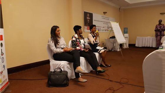 Tania Diolle participe à la conférence des femmes conseillères municipales de la SADC