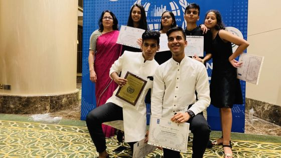 International Model United Nations Competition in Malaysia : Mauritian team sets the bar high