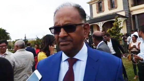 Alan Ganoo, ministre en charge du Metro Express : «Monn pare pou relev le defi»