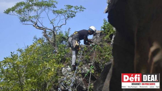Lavilleon Natural Forest : La Via Ferrata pour les adeptes d'adrénaline