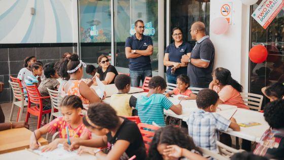 Riche-Terre Mall organise une : «Chocolate Party» pour les enfants défavorisés