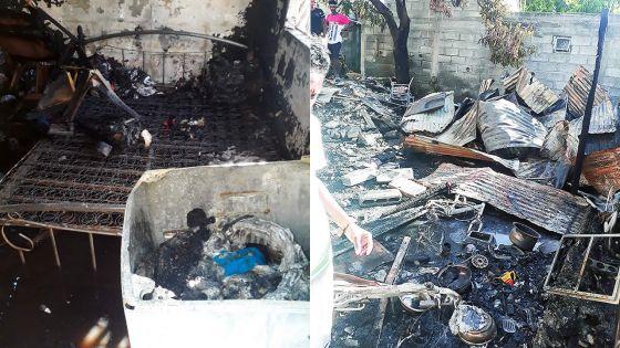 Appel de solidarité à Résidence La Cure : son ex-concubin incendie sa maison