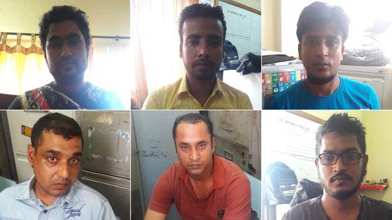 Vol de métaux précieux à Goodlands : douze ouvriers dont des Bangladais arrêtés