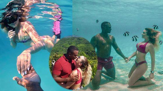 L'Aventure de Marine et de Cédric : Ils se sont fiancés sous l'eau à Nosy Bay à Madagascar