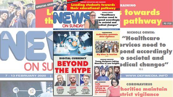 Voici la Une de News on Sunday de ce vendredi 07 février 2020