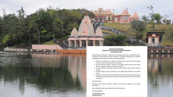 Maha Shivaratri : le ministre de la Santé recommande aux dévots de ne pas faire le pèlerinage à Grand-Bassin