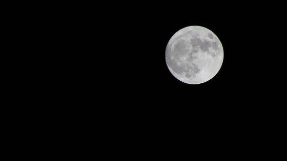 La Super Lune Rose visible ce soir