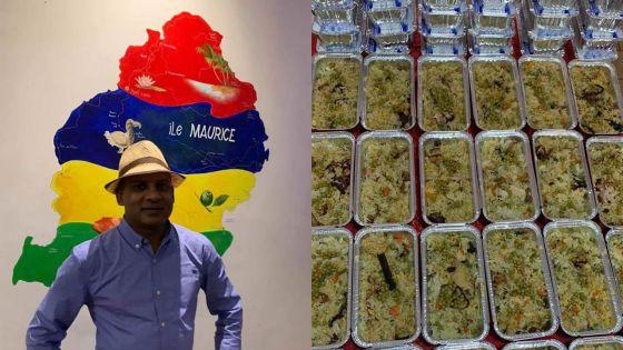 Covid-19 : un restaurateur mauricien offre du briani au personnel soignant d'un hôpital en France