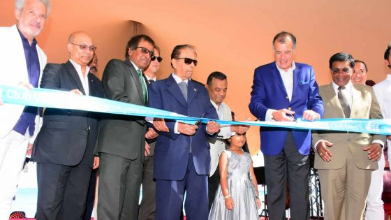 Inauguration du nouveau Club Med