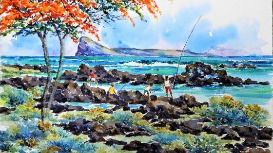 Univers artistique :Yeshen Gunnoo écrit l'histoire à coups de pinceau