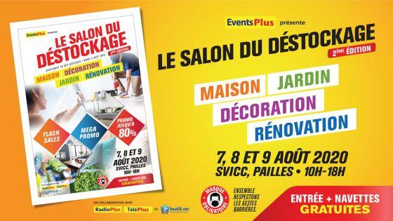 2ème édition Salon du Déstockage : profitez de remises jusqu'à 80% sur les produits maison et jardin ce week-end