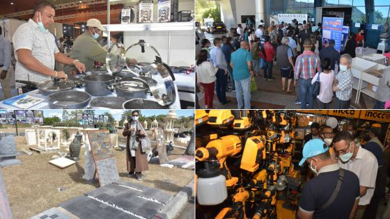 [En images] Le Salon du Déstockage s'est ouvert au SVICC, à Pailles, ce vendredi