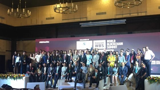 World Blockchain Summit 2018 : Mauritius Moving Towards Blockchain