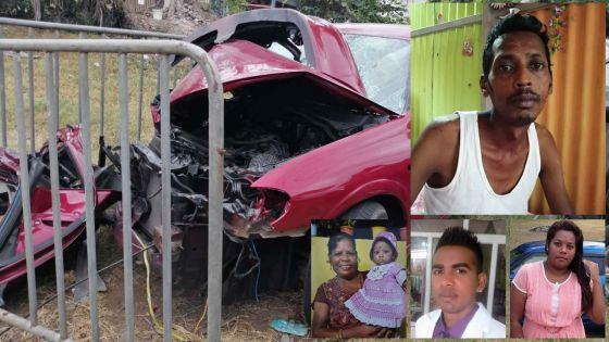 Trois morts dans l'accident de Plaine-des-Roches - Mithun, l'unique survivant : «Je dois rester fort pour ma fille de trois ans»