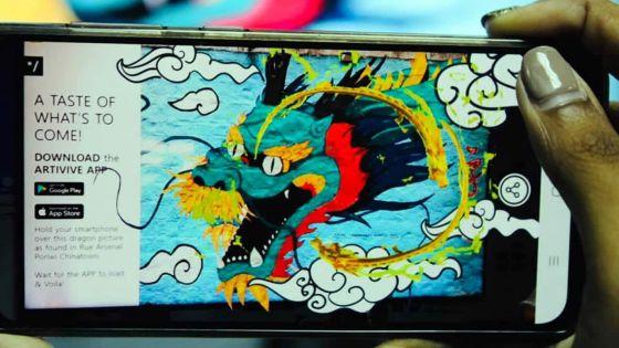 Loisir :Chinatown s'anime grâce à la réalité augmentée
