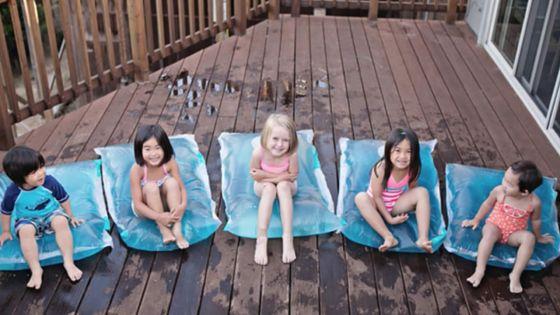 Fabriquez ces incroyables coussins d'eau