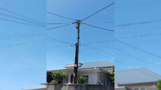 Lampadaire défectueux à Curepipe : le problème résolu en moins d'une journée