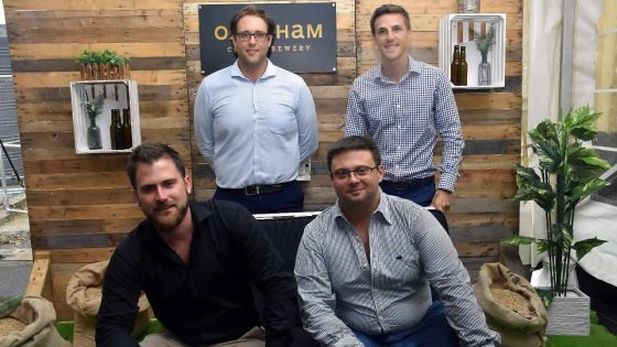 Oxenham lance la bière artisanale sur le marché local