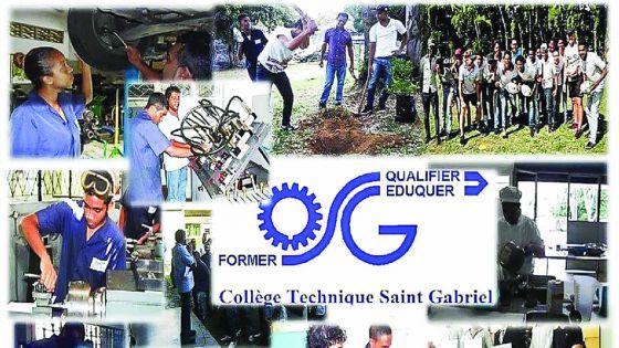 Collège Saint-Gabriel : une panoplie de cours professionnels dans la filière technique