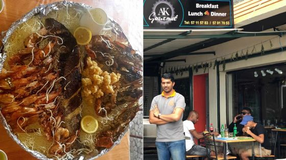 Entrepreneuriat - Restauration : AK Gourmet, l'art de survie à Grand-Baie