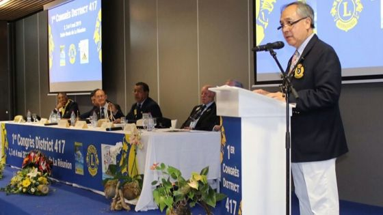Premier gouverneur du District 417 Lions Club International - Louis-Emmanuel Ng Cheong Tin : «Cultivons l'amitié dans la diversité»