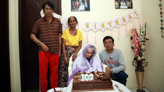 102 ans : Dhannautteea Ramashiredoit sa longévité à son «bon karma»