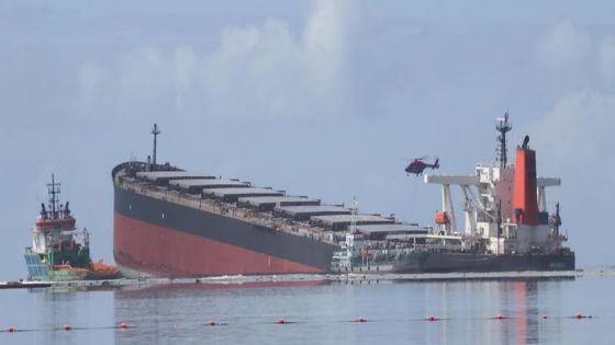 Wakashio : le navire a dévié de sa trajectoire initiale, selon les données satellitaires