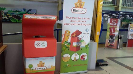 Environnement : Super U se lance dansle recyclage des huilesde friture usagées